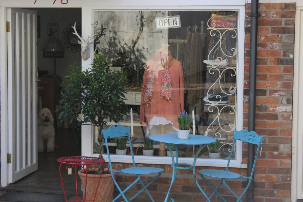 One of the many independent shops in Framlingham