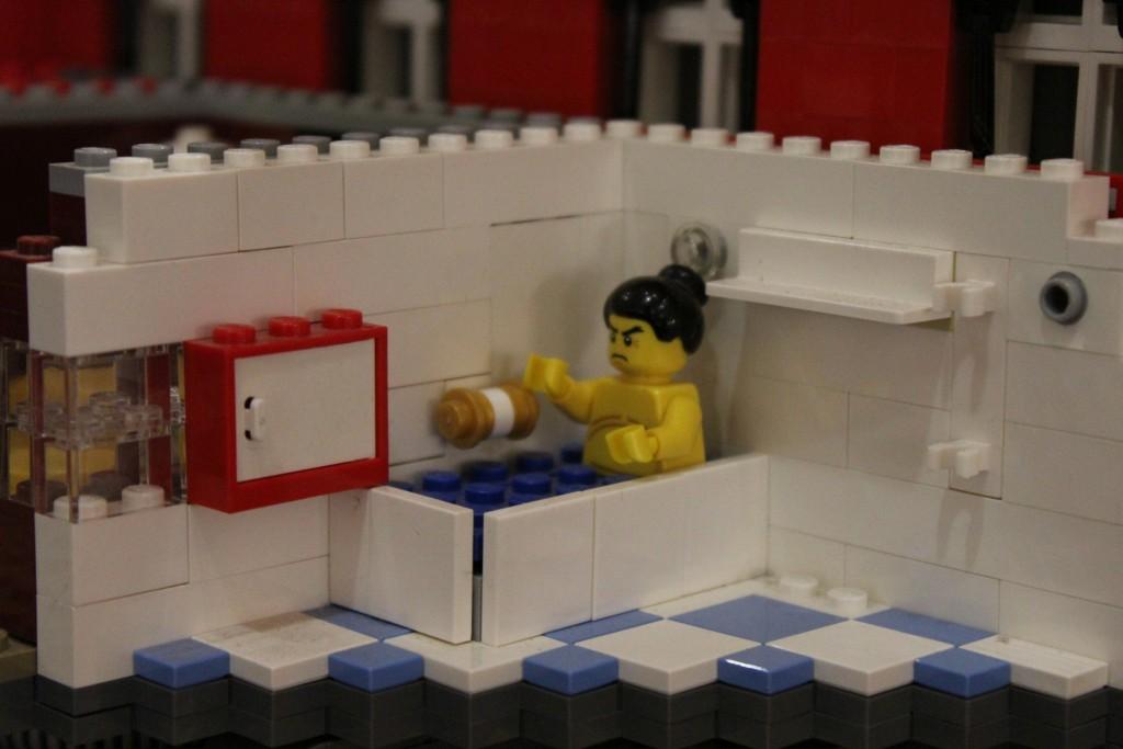 Lego Sumo Wrestler, Moyses Hall Museum
