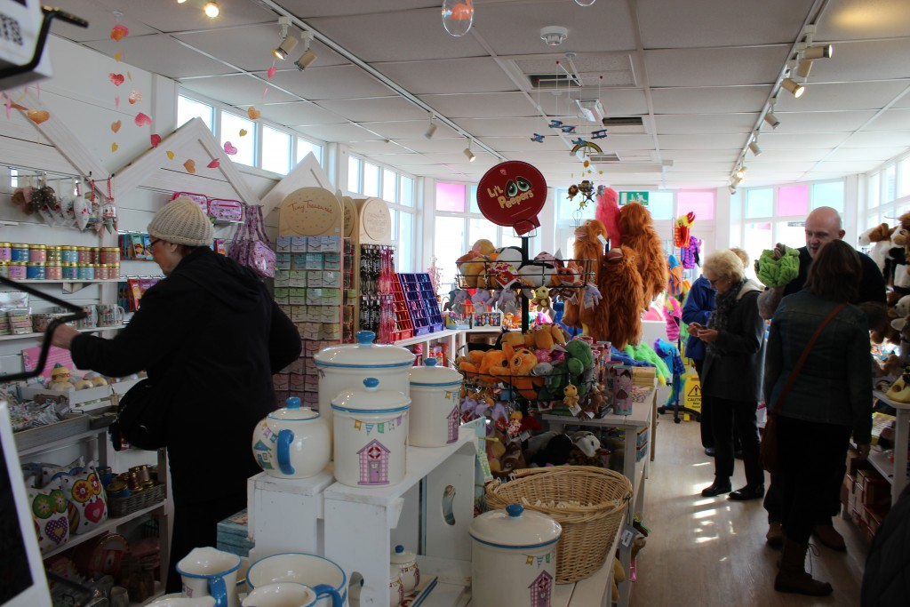 One of the lovely shops on Southwold Pier