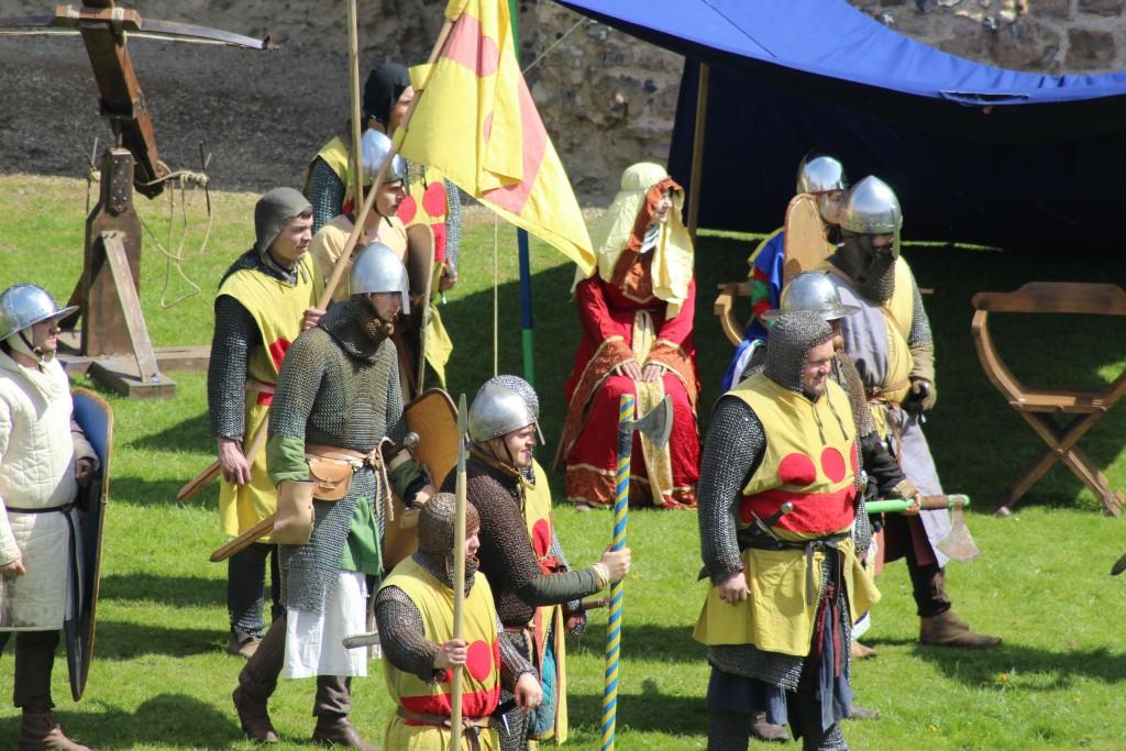 Siege! at Framlingham Castle