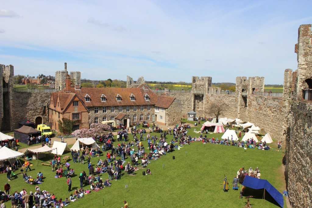 Siege! at Framlingham Castle