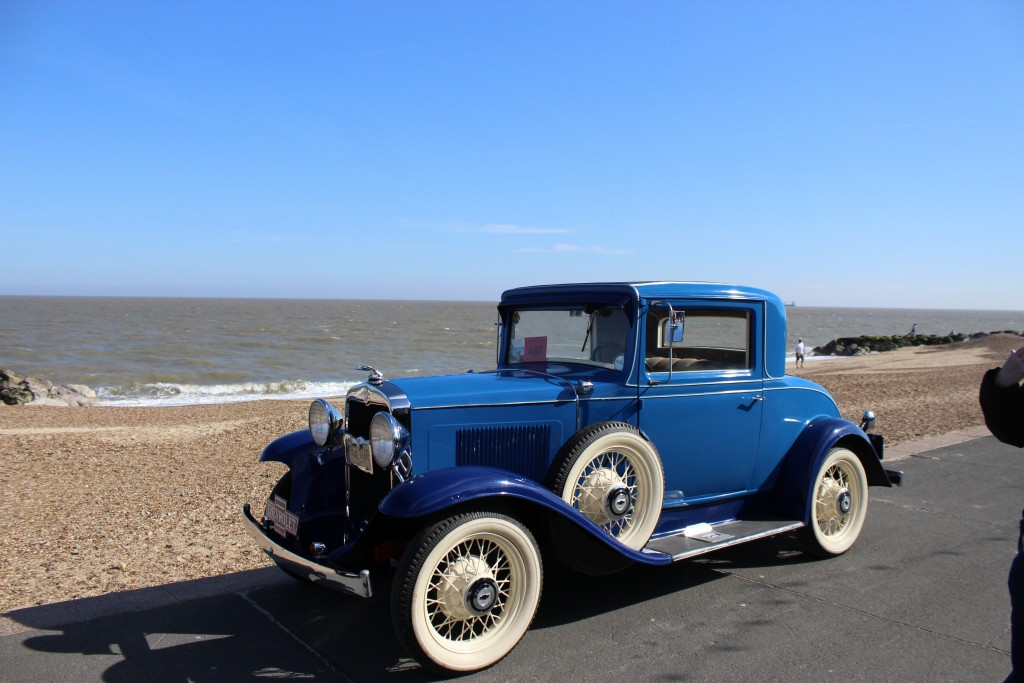 One of the fantastic cars on Felixstowe Sea front