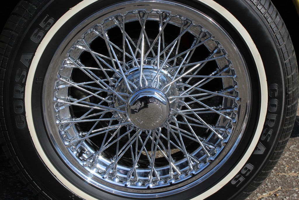 I think this is the cleanest car wheel I have ever seen!