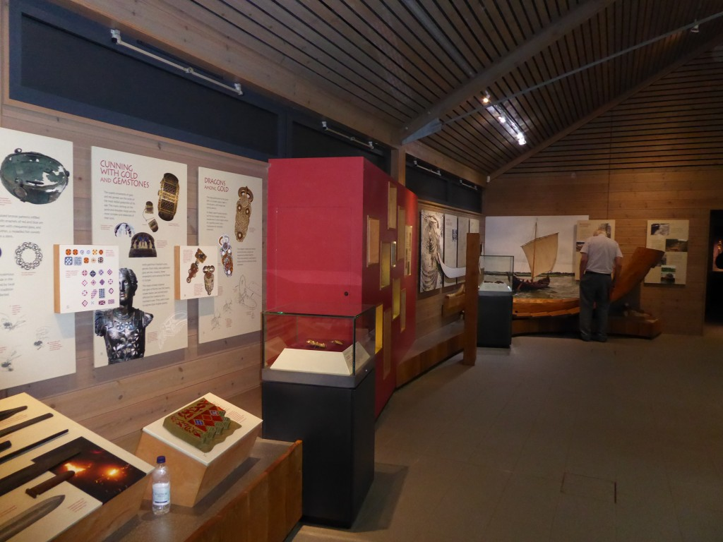 Sutton Hoo exhibition Hall