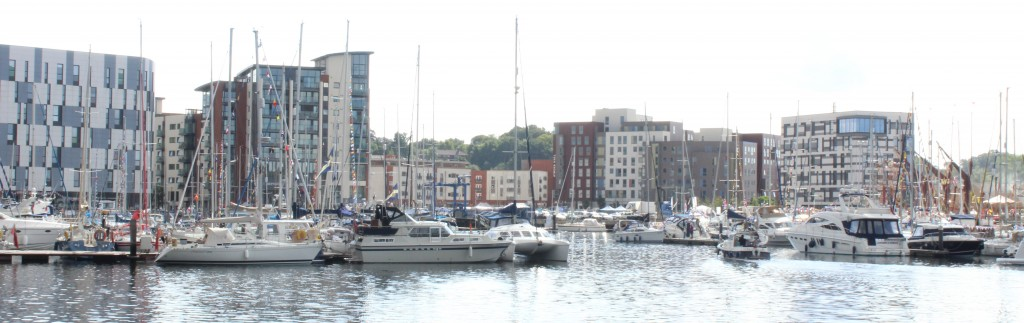View of UCS from Ipswich Waterfront