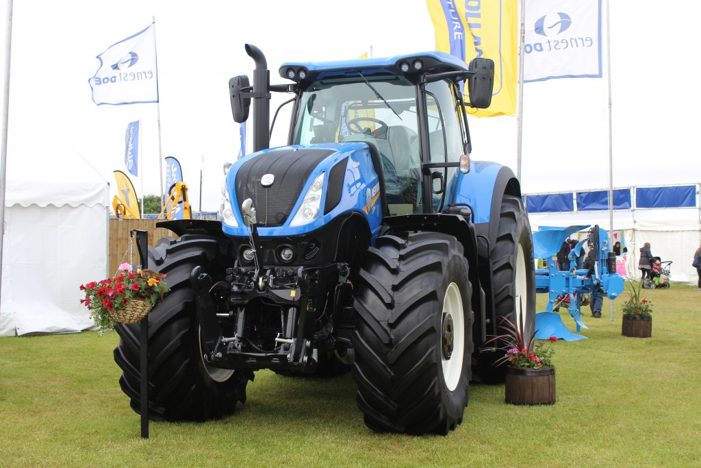 Suffolk Show tractor