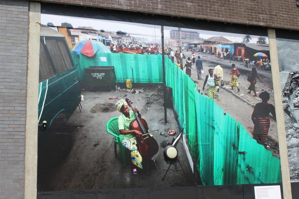 Billboard size photo on Ipswich Waterfront