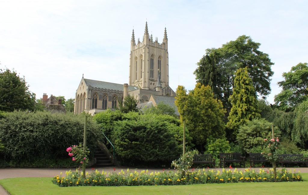 Abbey gardens, Bury St Edmuns