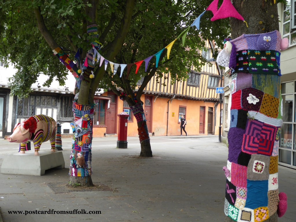 Yarn Bombing hits Ipswich!