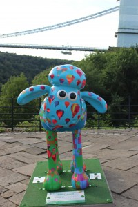 Shaun the Sheep Charity Art Trail - Bristol 2015