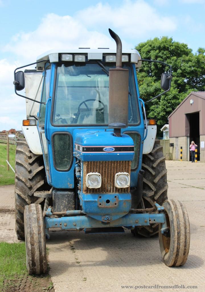 Tractor Suffolk Punch Trust