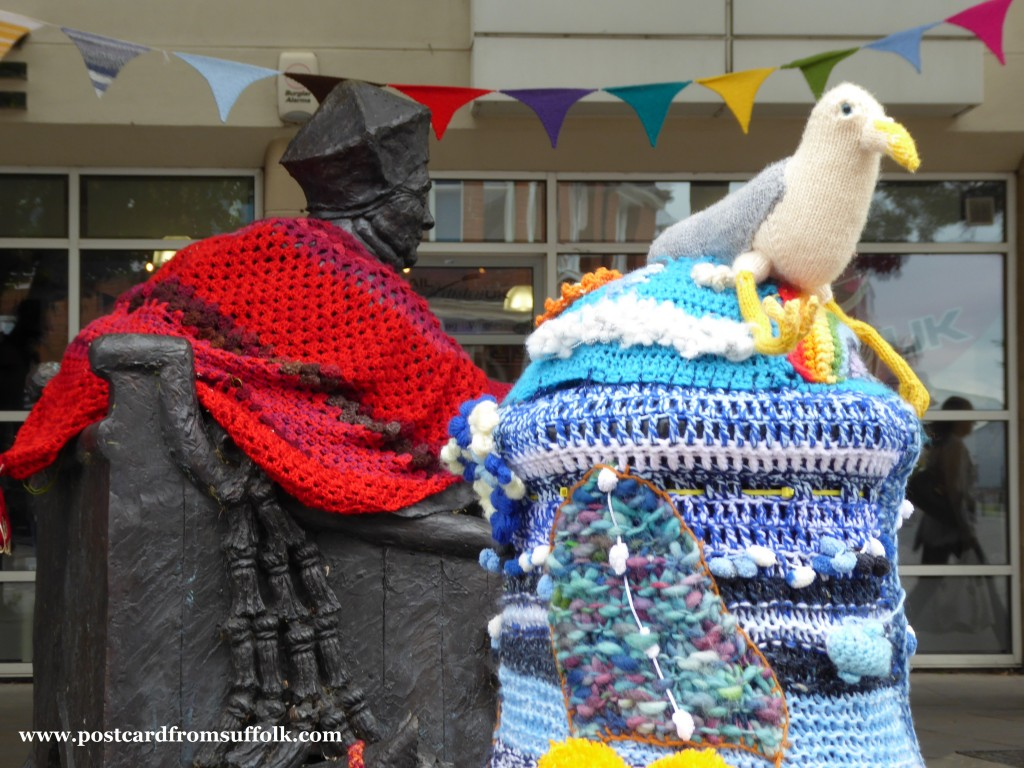 Yarn Bombing Ipswich Suffolk