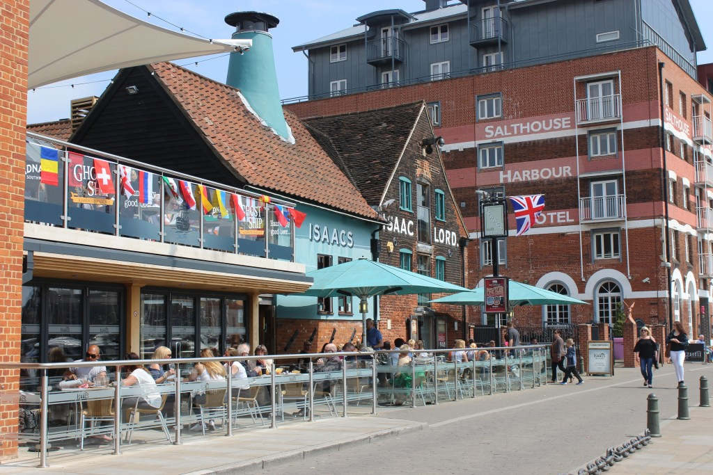 Isaacs on the Quay Ipswich