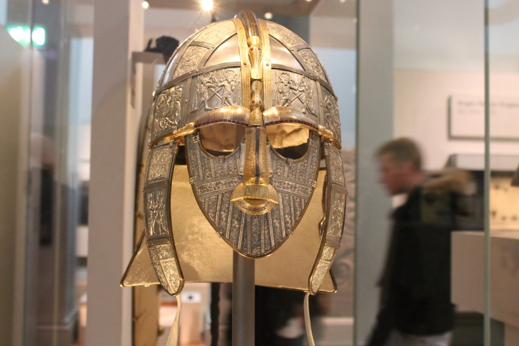 Sutton Hoo treasure British Museum
