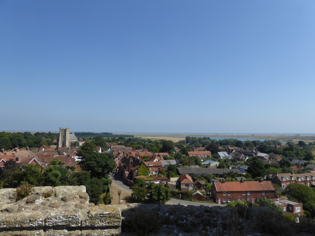 View from top of Orford Castle