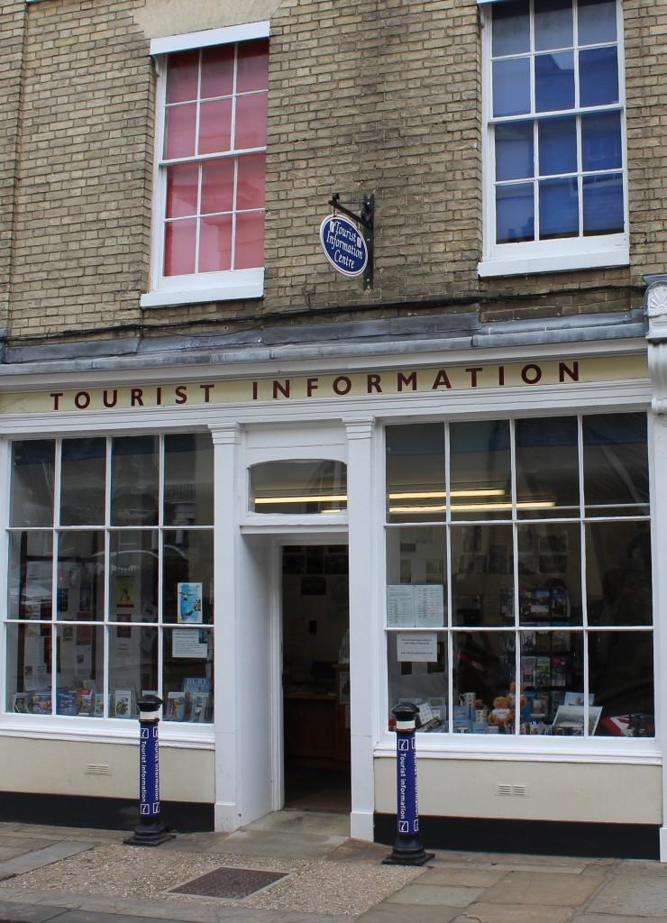 Suffolk days out Bury St Edmunds Tourist Information Centre