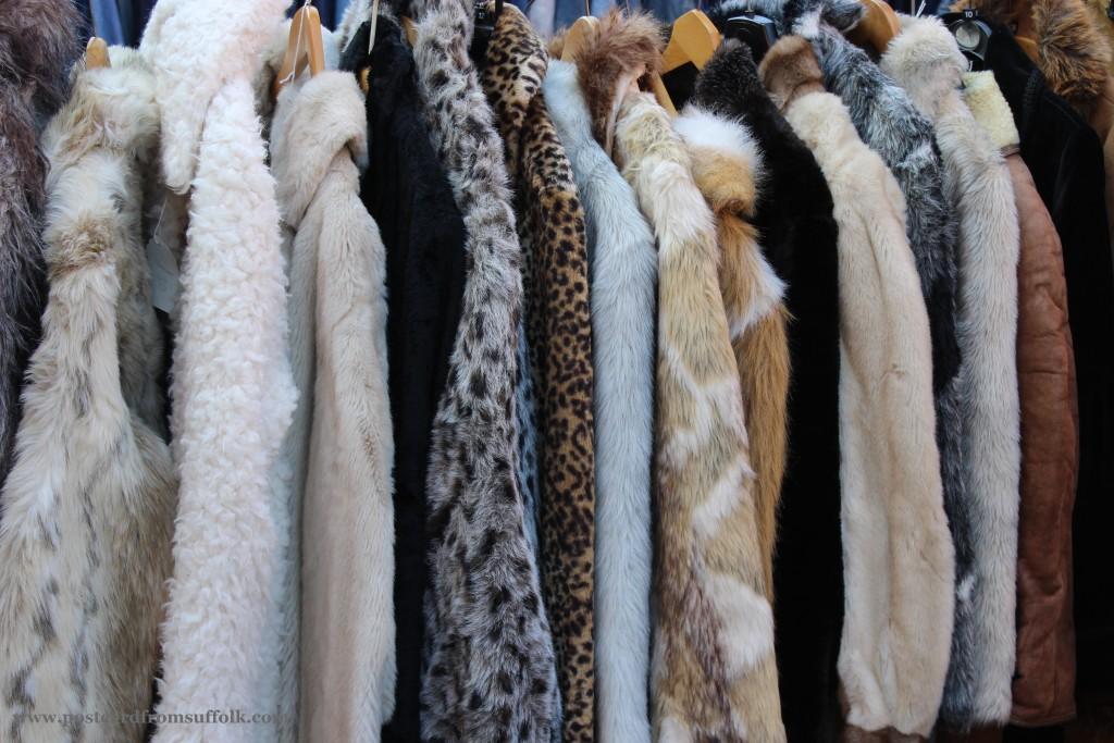 vintage market fur coats
