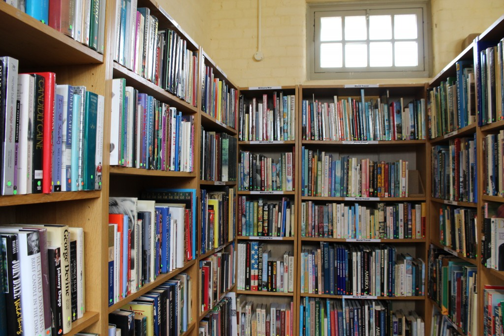 Sutton Hoo second hand book shop