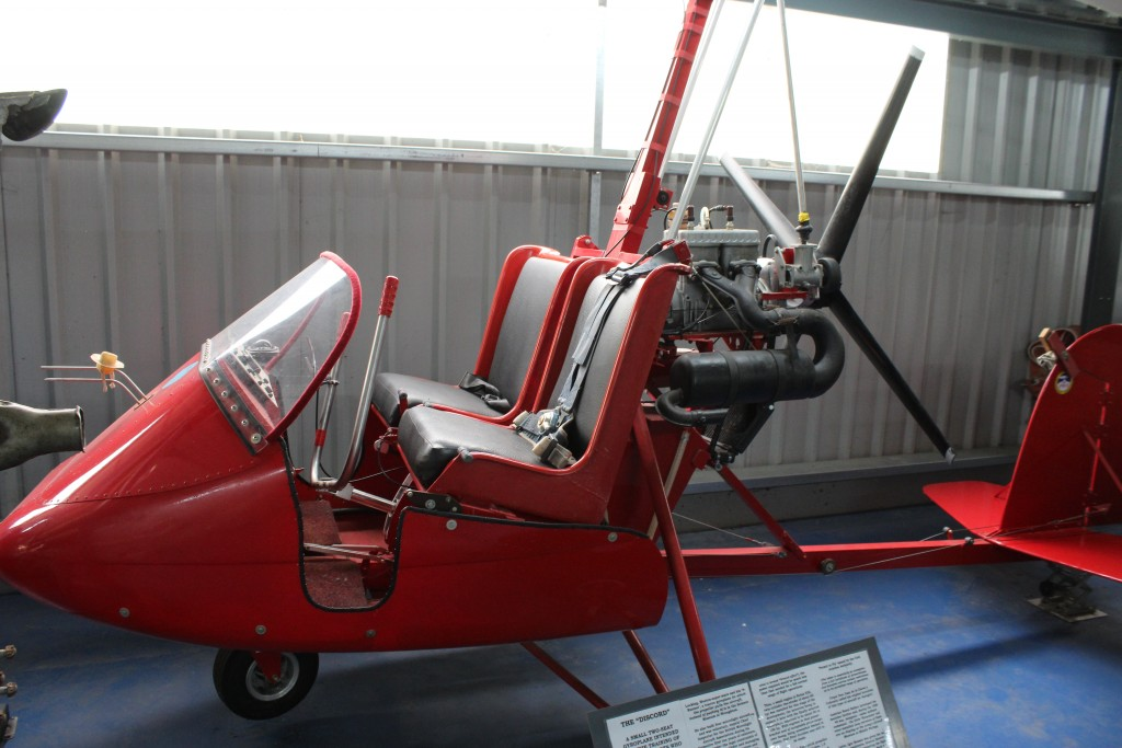 Gyroplane Norfolk and Suffolk Aviation Museum