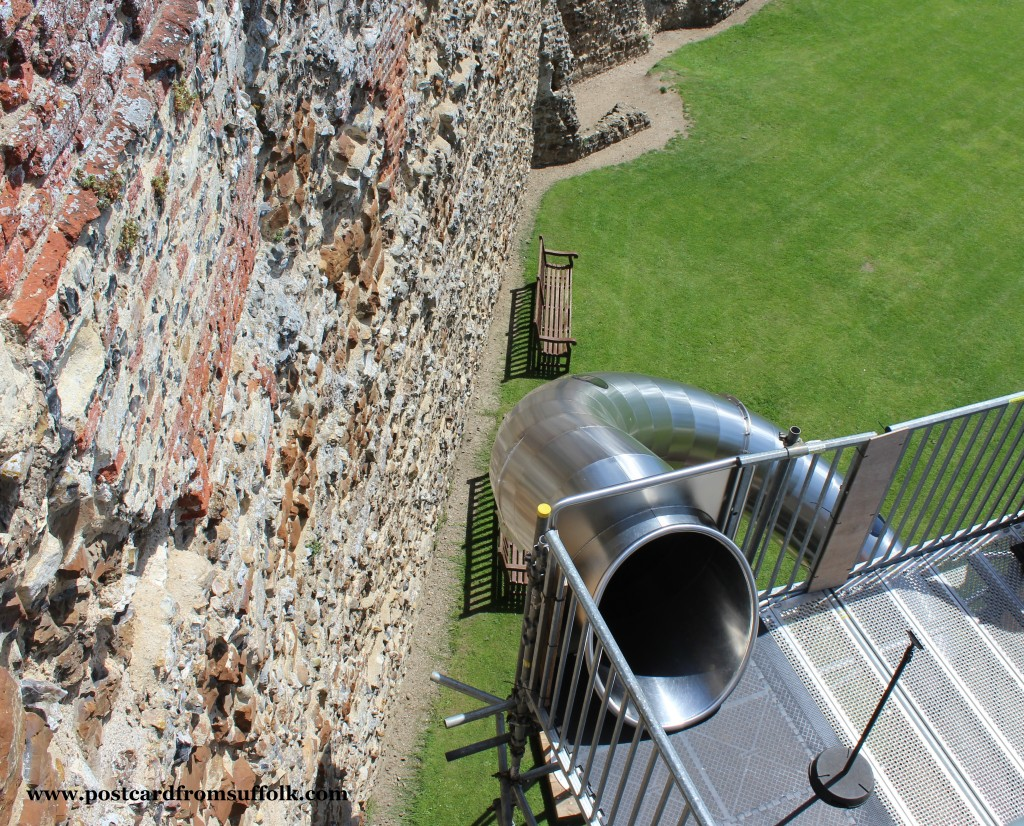 slide at Framlingham Castle