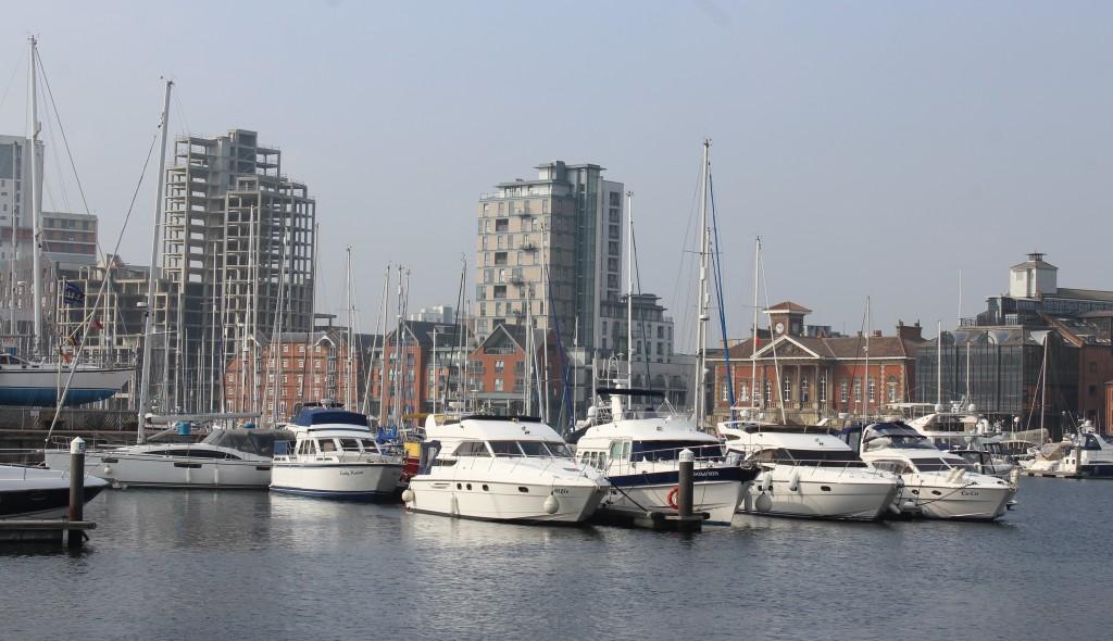 Ipswich Waterfront aboard Orwell Lady