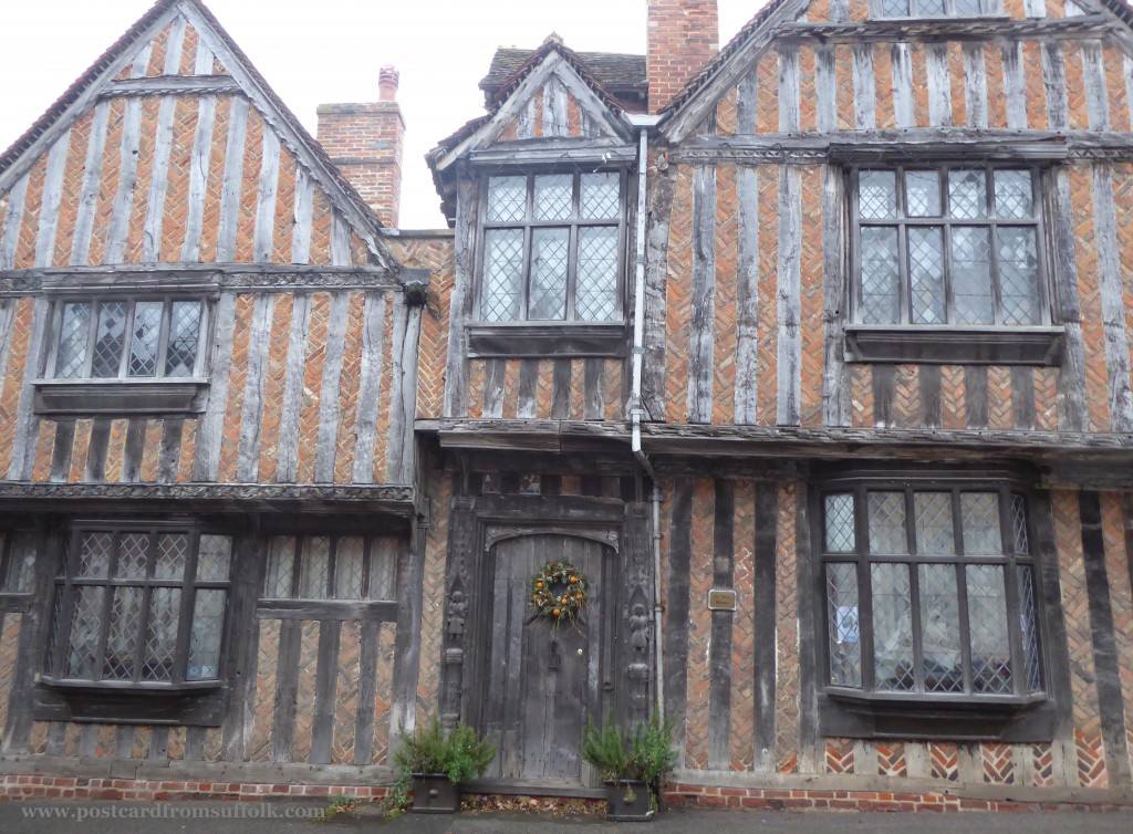 Harry Potters house in Lavenham