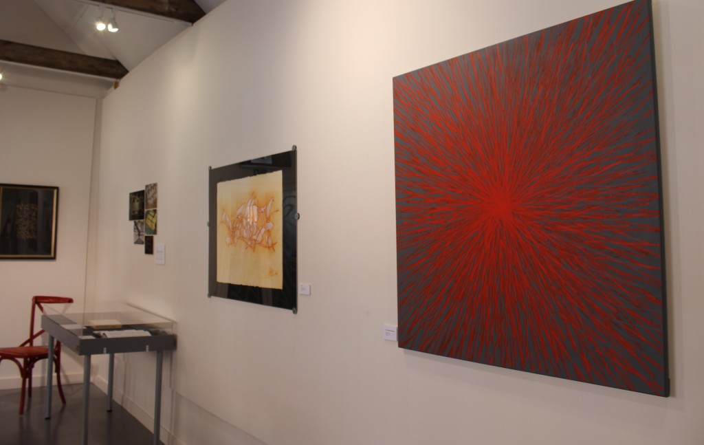 exhibition at lettering arts centre