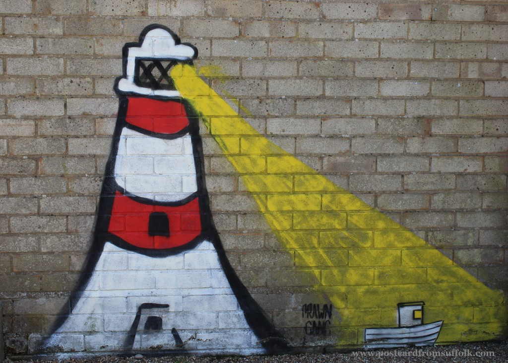 Orford Lighthouse street art