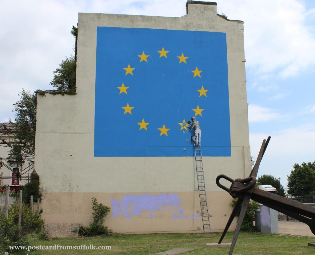 Banksy EU Flag