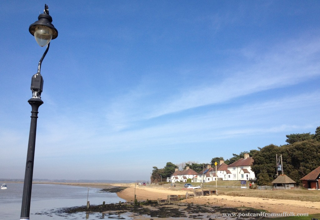 View from Bawdsey Quay