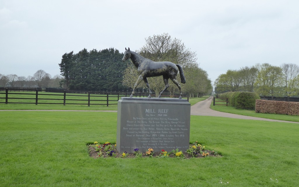 Mill Reef at National Stud
