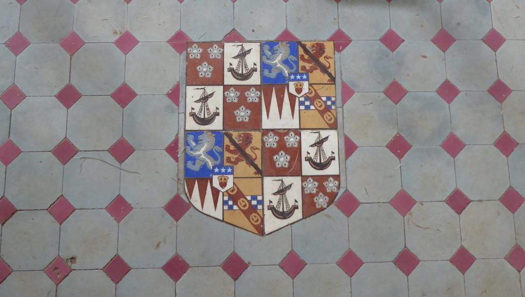 floor tile victorian dairy easton farm park