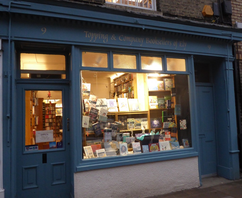 Visiting Ely book shop