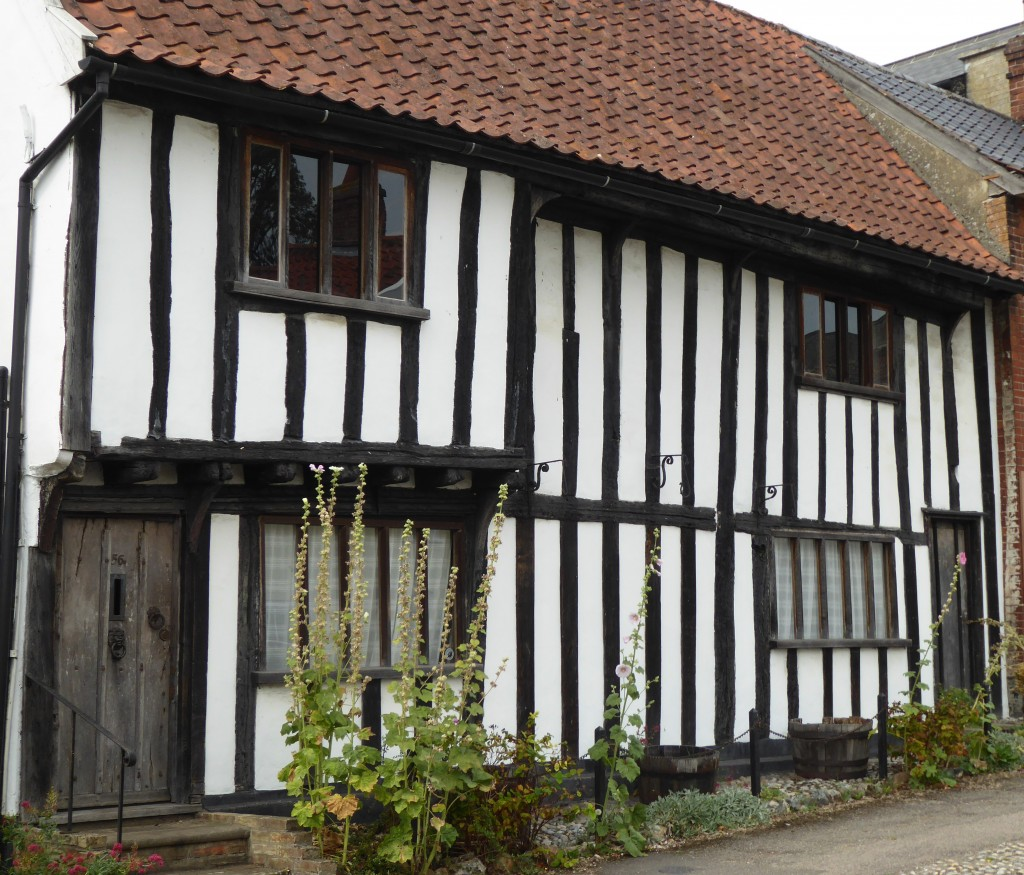 Tudor cottage in Debenham